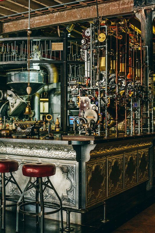 steampunk coffee house in cape town south africa truth 5 Crazy Steampunk Apartment in New York City