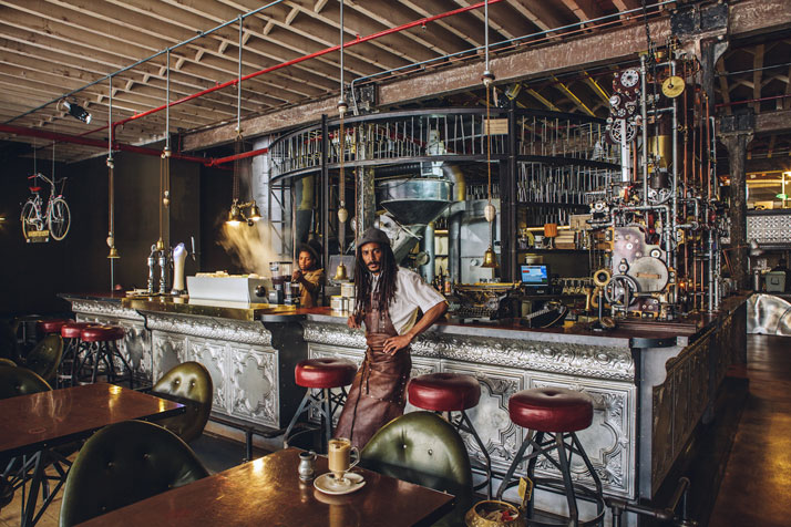 steampunk coffee house in cape town south africa truth (6)
