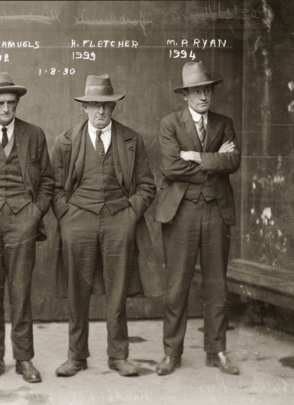 Vintage Candid Mugshots of Dapper Criminals 1920s (19)