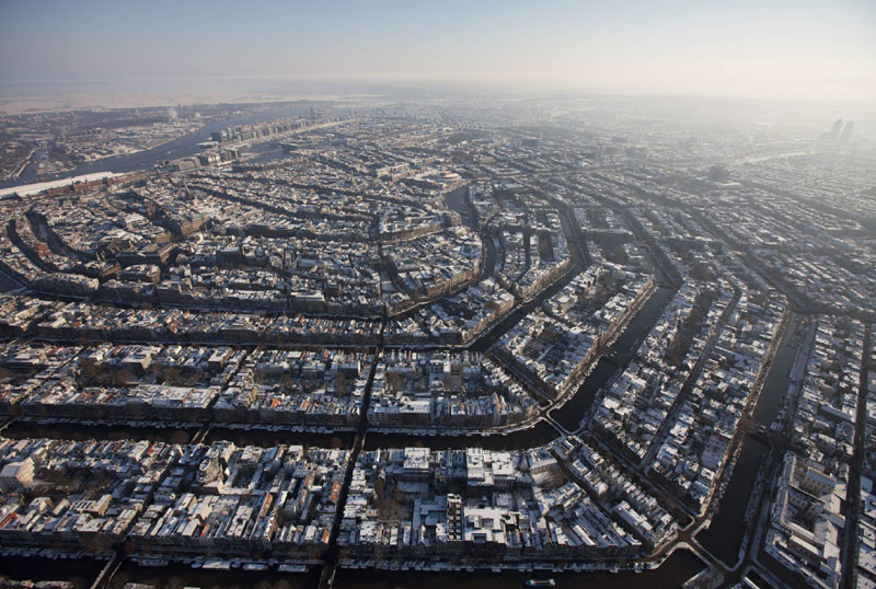 Picture of the Day: Amsterdam from Above