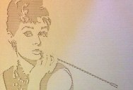 Celebrity Portraits Carved into Corrugated Cardboard