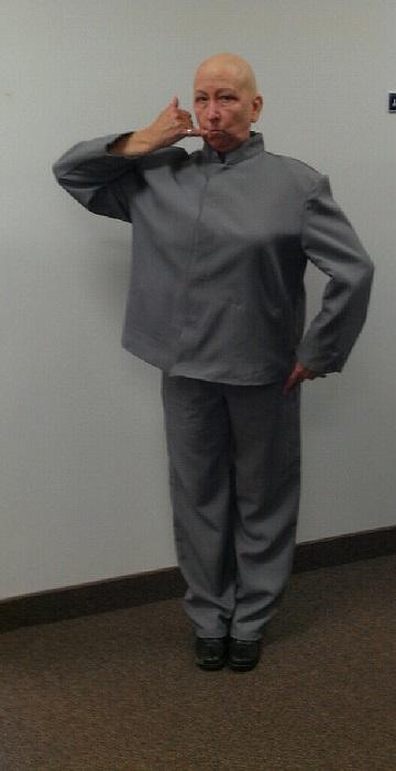 dr evil chemo halloween costume