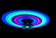 Picture of the Day: Glow Sticks and a Ceiling Fan