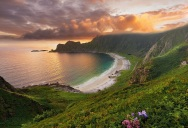 Picture of the Day: Hoyvika Beach, Norway