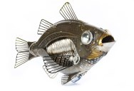 Intricate Animals Made from Scrap Metal and Old Auto Parts