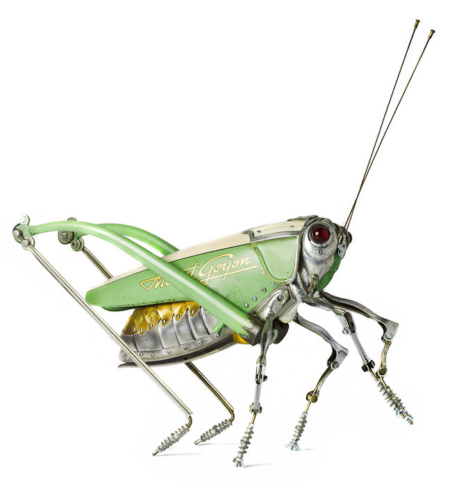 insects and animals made from scrap metal and bike parts edouard martinet (4)