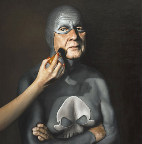 life of an aging superhero oil painting portraits by andreas englund (2)