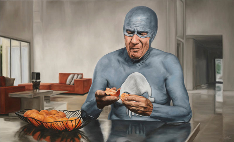 life of an aging superhero oil painting portraits by andreas englund (4)