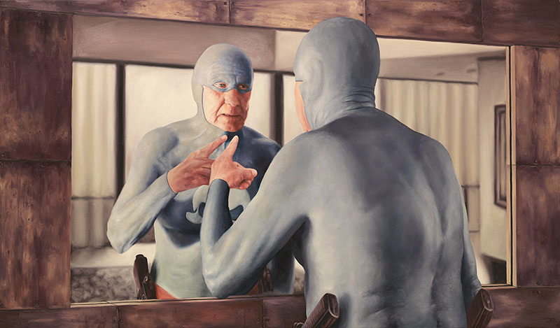 life of an aging superhero oil painting portraits by andreas englund (8)