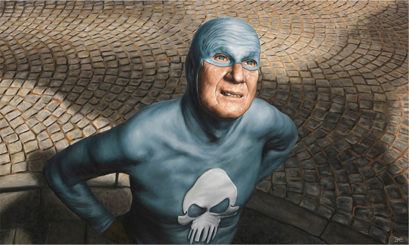 life of an aging superhero oil painting portraits by andreas englund (9)