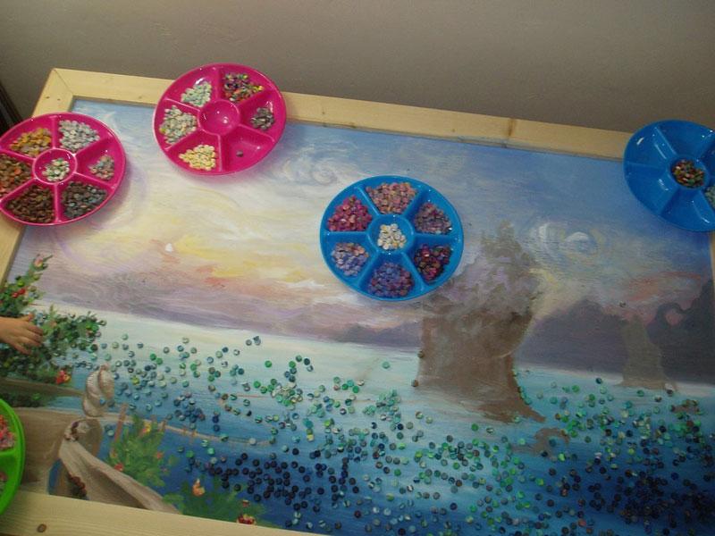 play doh mosaic artwork lacy knudson dozayix (5)