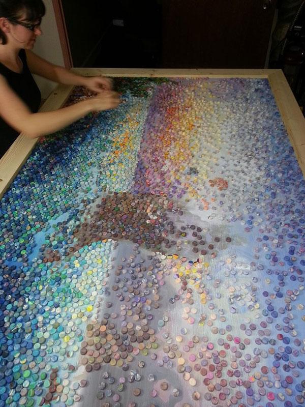 play doh mosaic artwork lacy knudson dozayix (8)