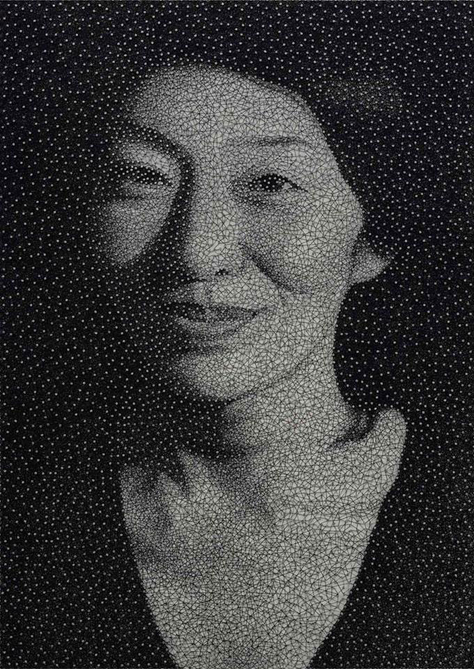 portraits made from single thread wrapped around nails kumi yamashita (2)