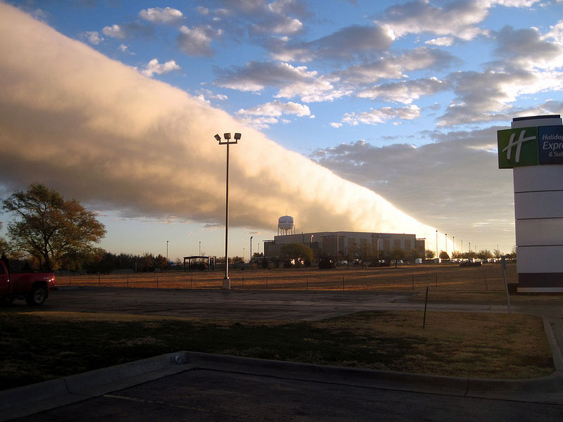 roll cloud canyon texas Picture of the Day: Texas Roll Cloud