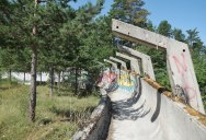 What the Bobsled Track from the Sarajevo '84 Olympics Looks Like Today