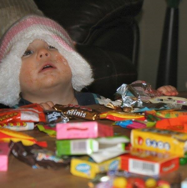 too much candy halloween