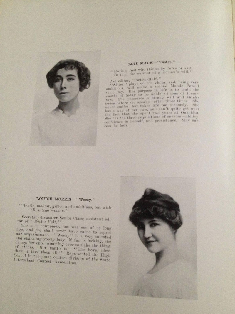 100 year old high school yearbook 1912-1913 texarkana  (11)