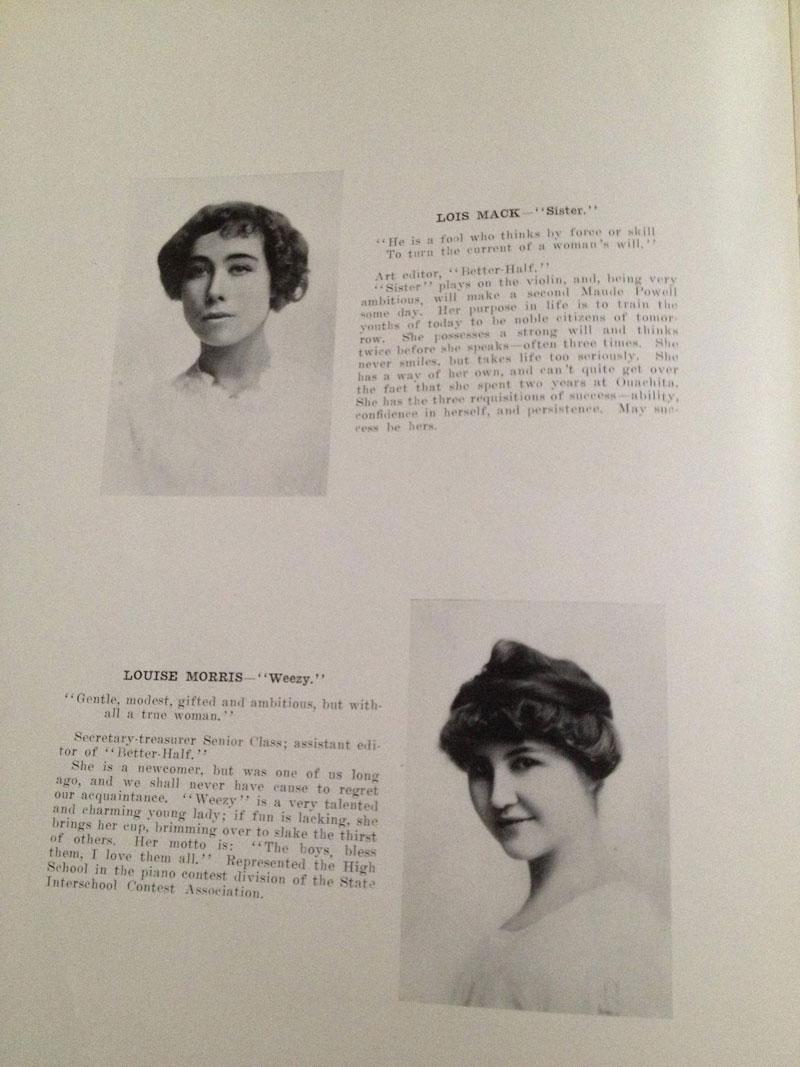 100 year old high school yearbook 1912-1913 texarkana  (11)