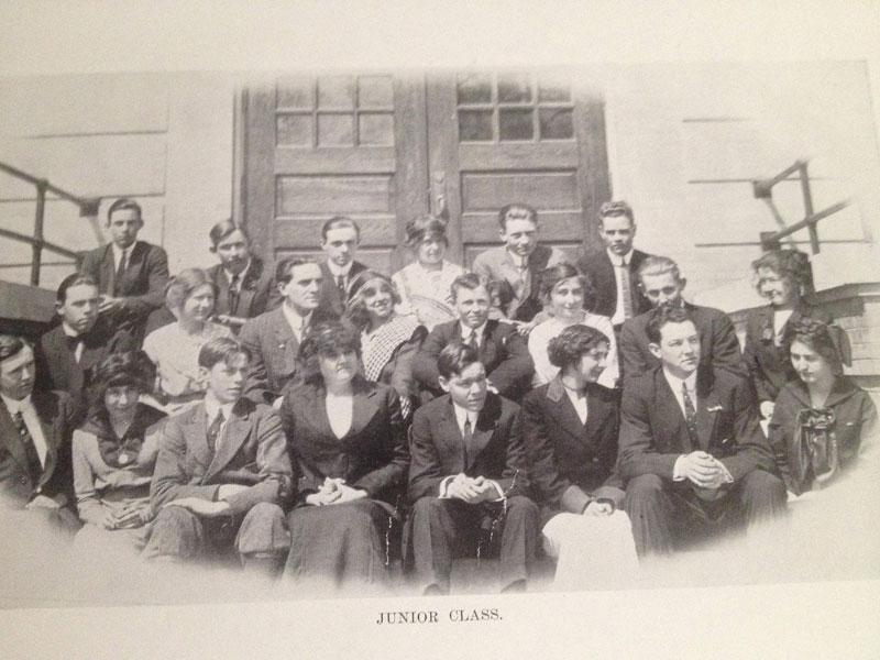 100 year old high school yearbook 1912-1913 texarkana  (13)