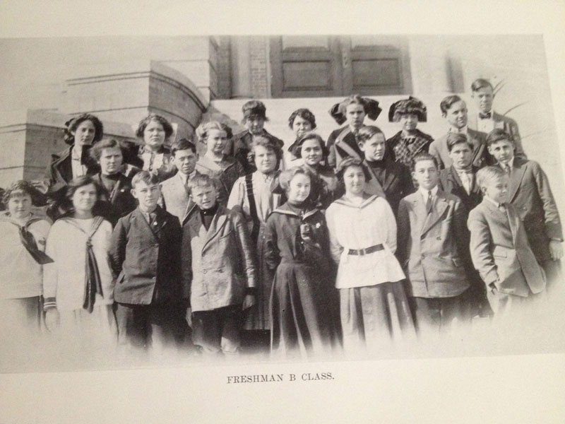 100 year old high school yearbook 1912-1913 texarkana  (17)