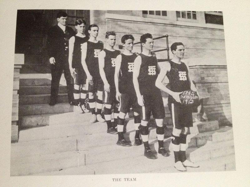 100 year old high school yearbook 1912-1913 texarkana  (19)