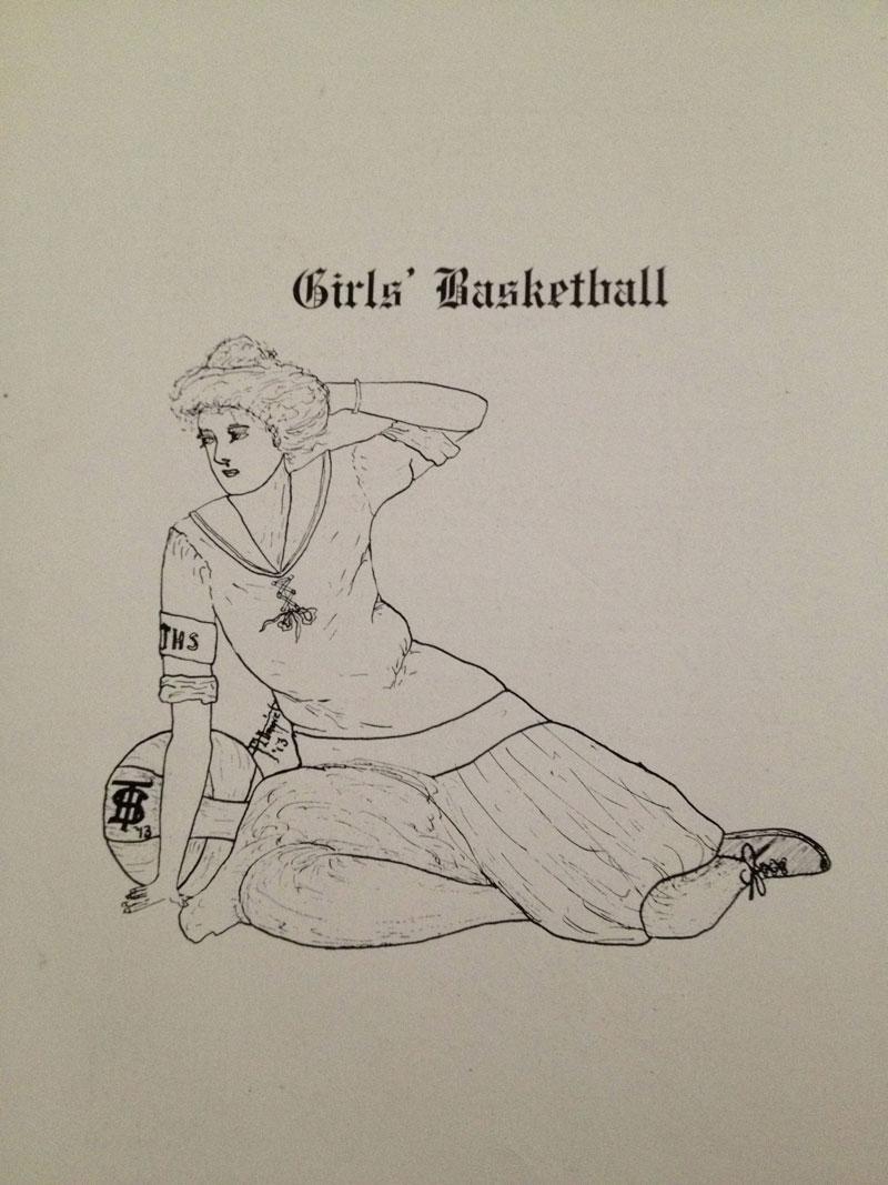 100 year old high school yearbook 1912-1913 texarkana  (20)