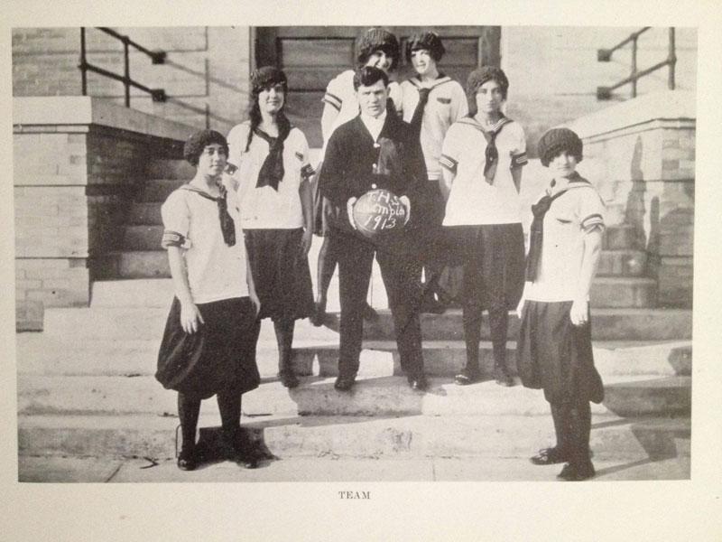 100 year old high school yearbook 1912-1913 texarkana  (21)
