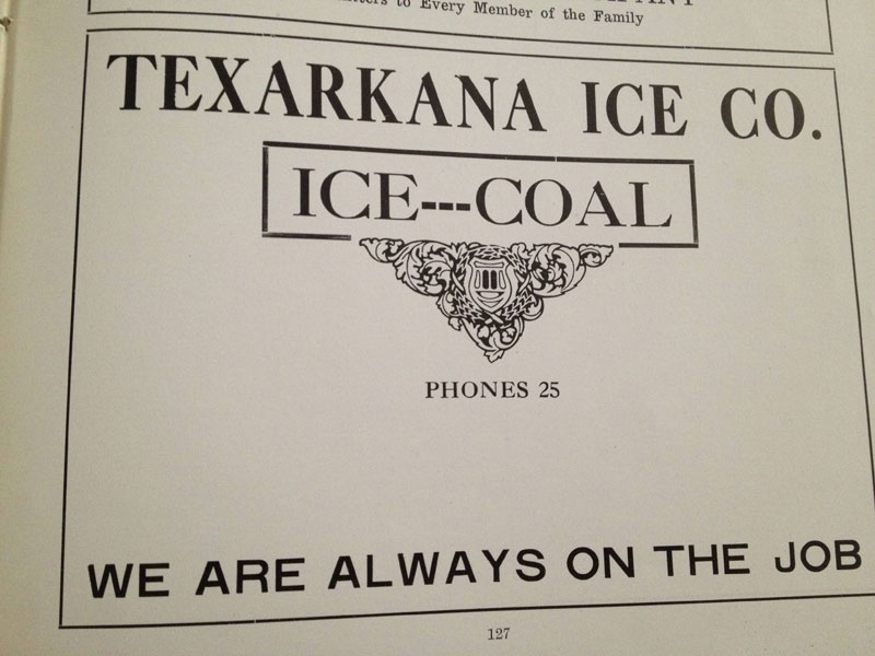100 year old high school yearbook 1912-1913 texarkana  (38)