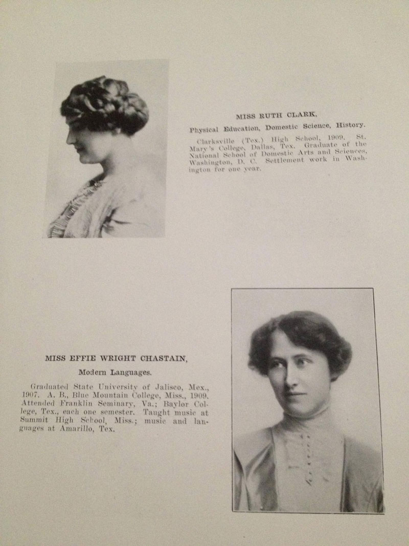 100 year old high school yearbook 1912-1913 texarkana  (6)