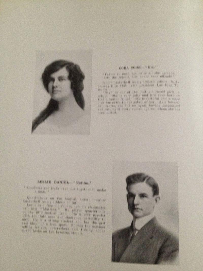 100 year old high school yearbook 1912-1913 texarkana  (8)