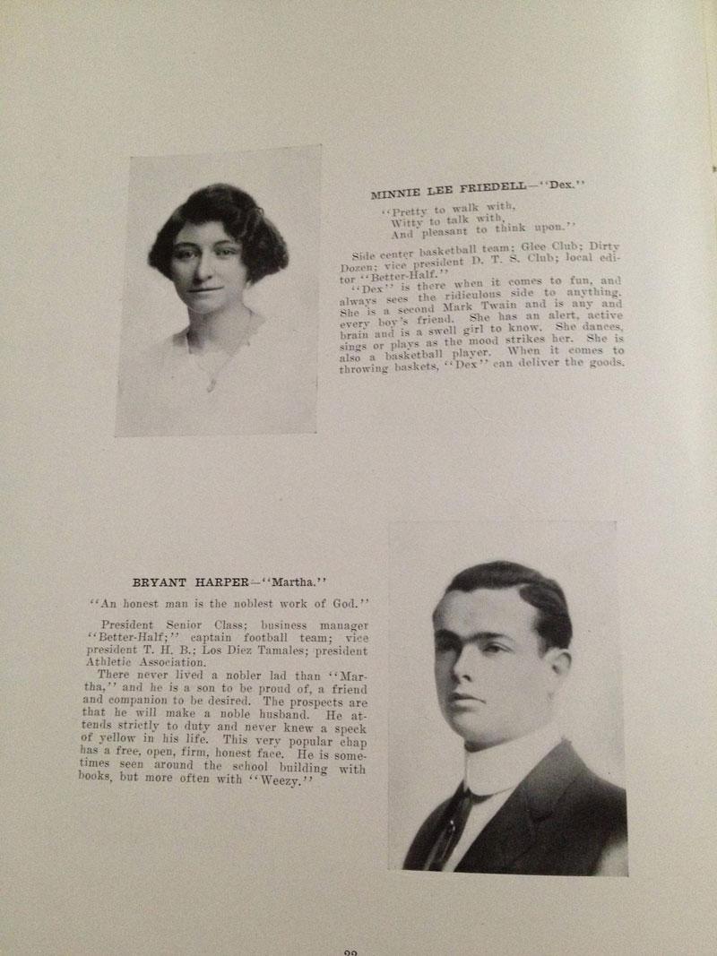 100 year old high school yearbook 1912-1913 texarkana  (9)