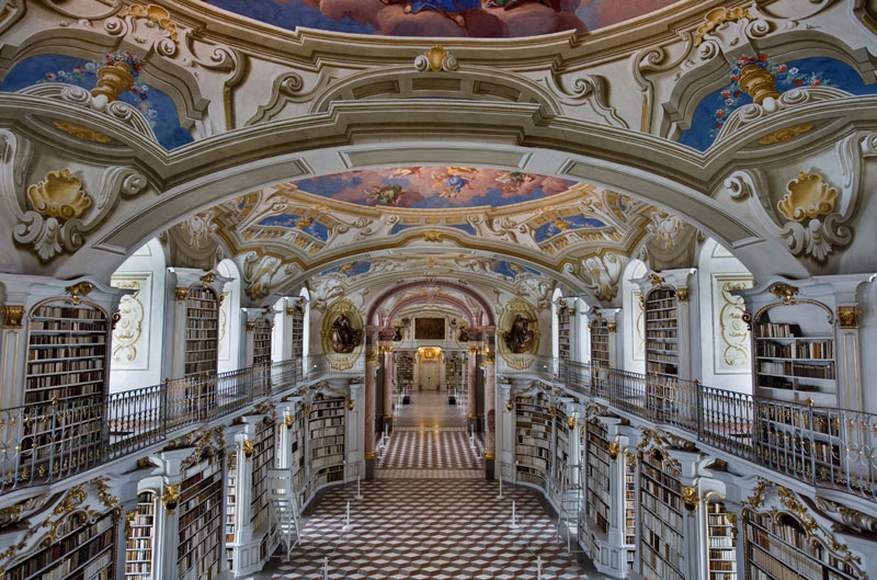 admont abbey monastery library austria (1)