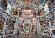 The World's Largest Monastery Library is in Austria and it's Beautiful