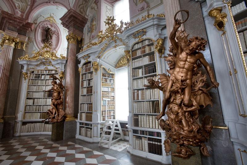 admont abbey monastery library austria (4)