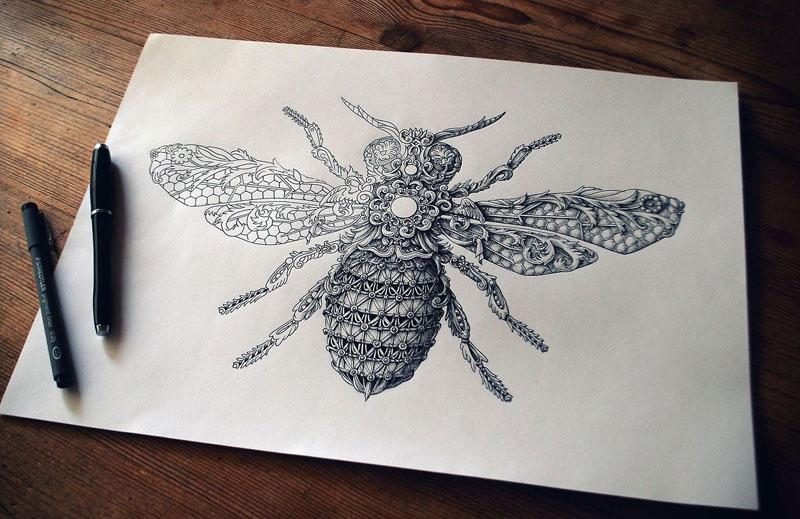 Alex Konahin ink illustrations (15)