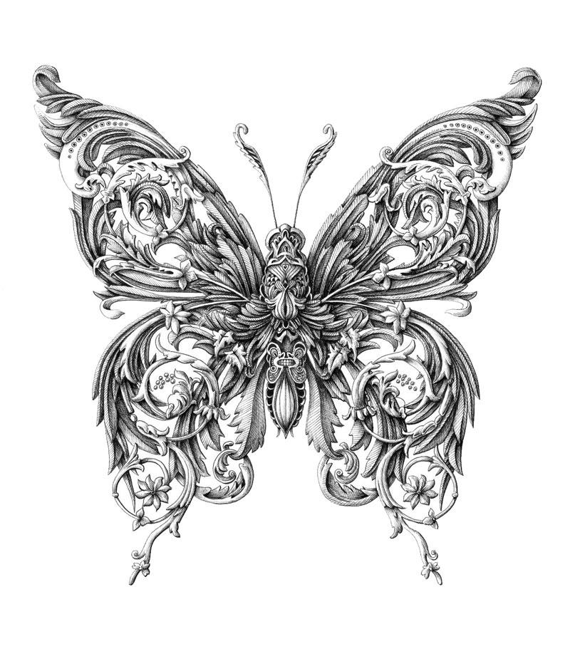 Alex Konahin ink illustrations (5)