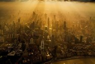 Crane Operator for Shanghai's Tallest Building Takes Amazing Photos of City Below