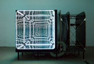 This Light-Bending Cube of One-Way Mirrors Will Really Trip You Out