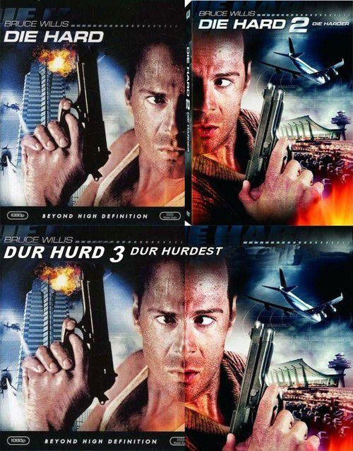 die hard dvds side by side durrr derp 2 10 Things You Never Knew about 10 Famous Christmas Movies