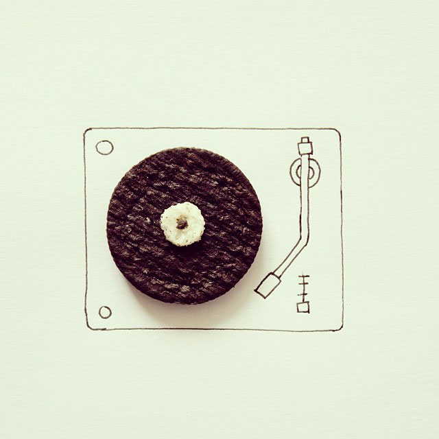 doodles that incorporate everday objects by javier perez cintascotch on instagram (10)