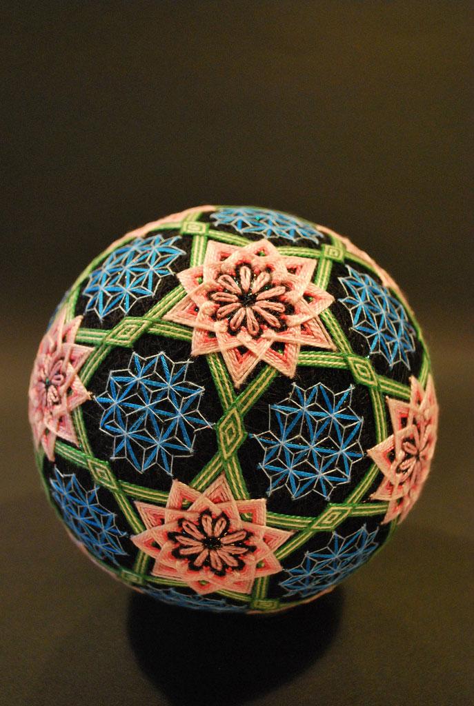 embroidered temari balls japan (8)