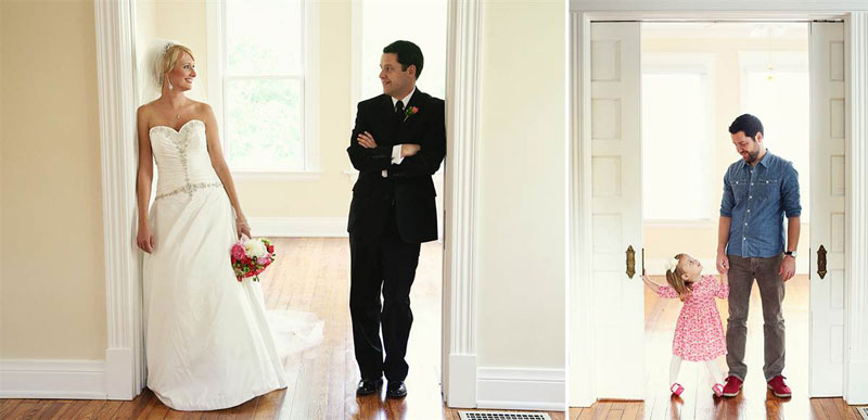 father and daugher recreate wedding photos of late mother wife tracy pace loft3 (2)