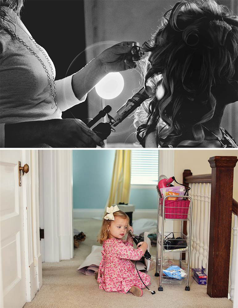 father and daugher recreate wedding photos of late mother wife tracy pace loft3 (3)