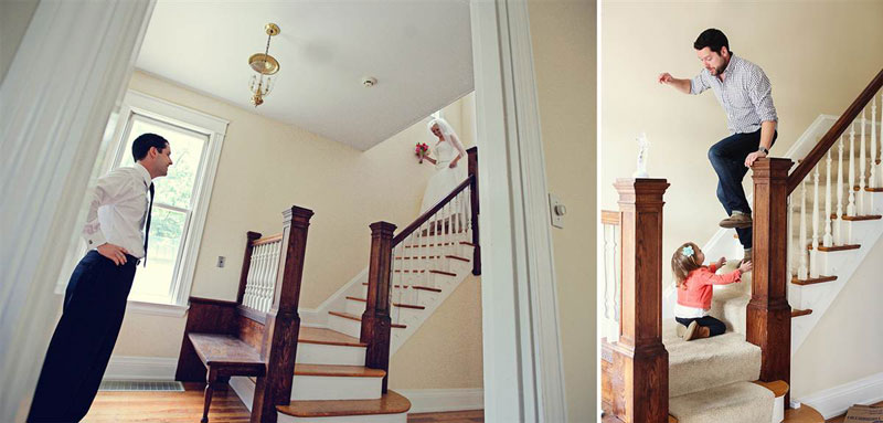 father and daugher recreate wedding photos of late mother wife tracy pace loft3 (4)