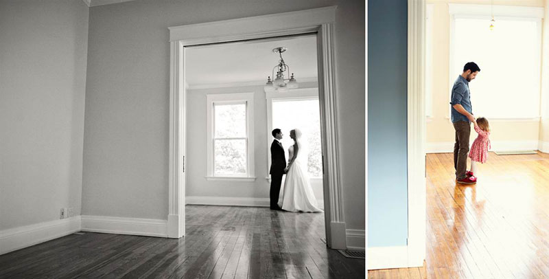 father and daugher recreate wedding photos of late mother wife tracy pace loft3 (5)
