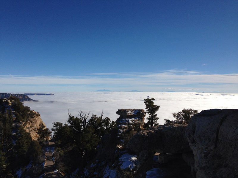 grand canyon filled with fog november thanksgiving 2013 (11)