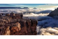 Every 10 Years a River of Fog Fills the Grand Canyon