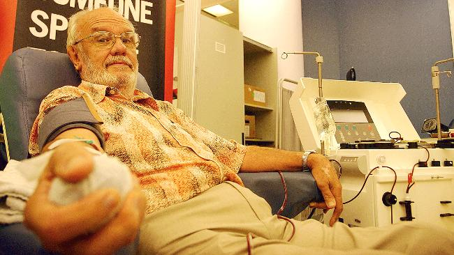 james harrison blood donor man with golden arm