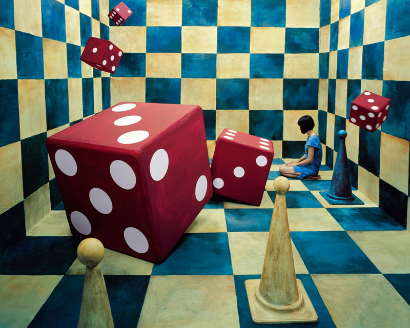 jeeyoung lee opiom gallery 313 Artist Transforms a Single Room into a Series of Surreal Fantasy Worlds