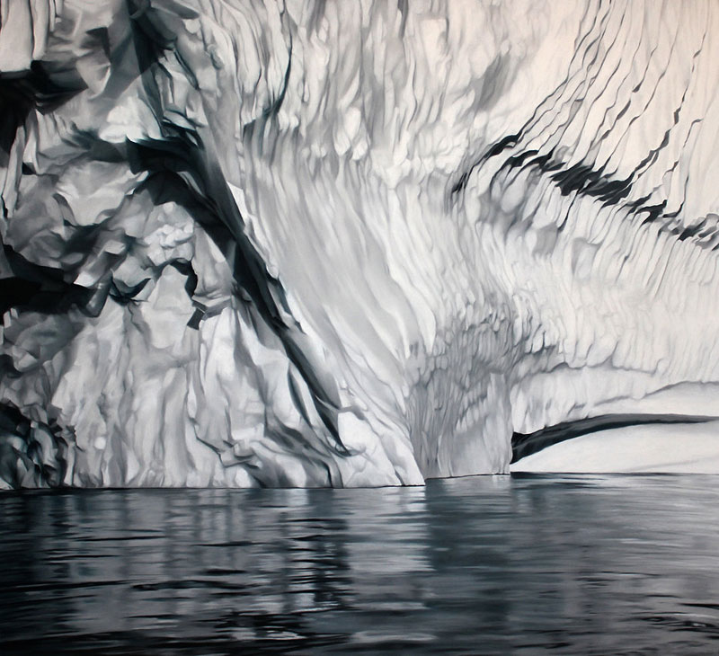 pastel drawings of icebergs by zaria forman (4)